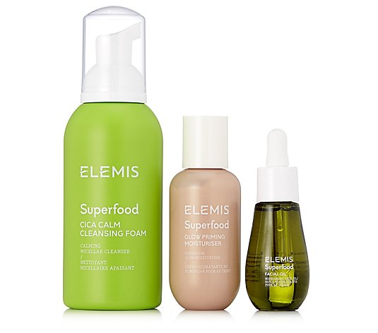 Elemis 3 Piece Superfood Refresh & Glow Collection
