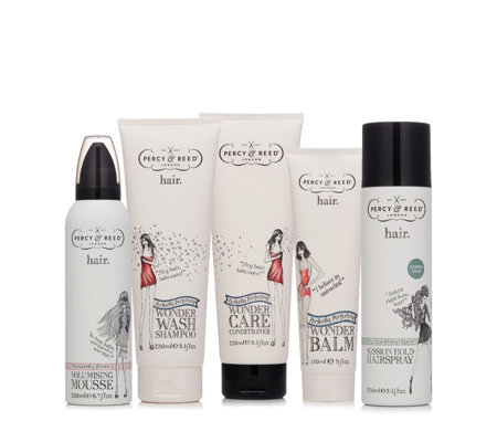 Percy & Reed 5 Piece Perfectly Perfecting Haircare Collection