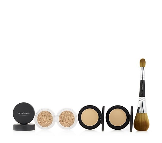 Bareminerals Well Rested 4 Piece Collection with Brush