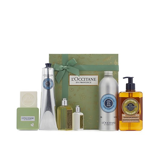 L'Occitane 6 Piece Bath & Body Gift Collection