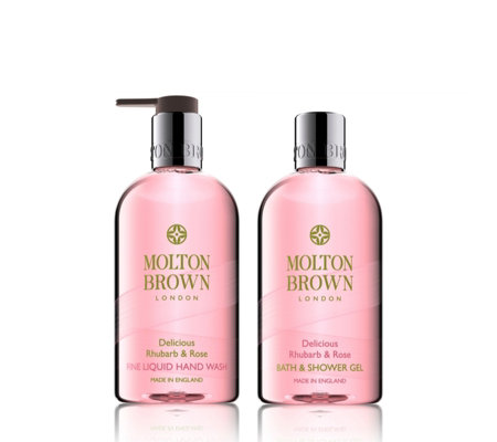 Molton Brown Rhubarb & Rose 2 Piece Hand & Body Collection