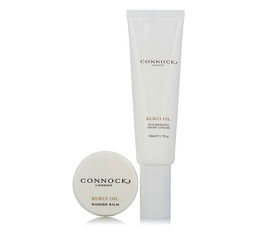 Connock London Kukui Oil Handbag Essentials Duo