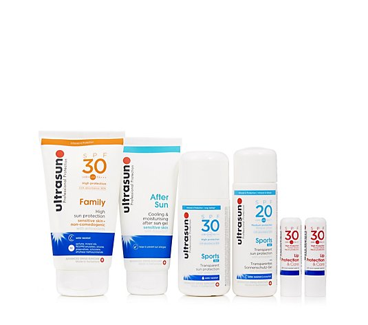 Ultrasun 6 Piece Essential Sun Protection Collection