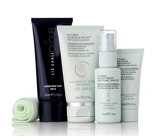 Liz Earle 4 Piece Perfect Canvas Discovery Collection