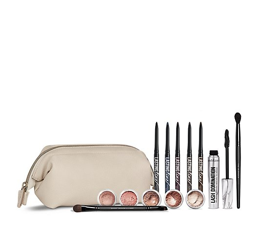 Bareminerals 13 Piece Eye Vault Collection with Bag