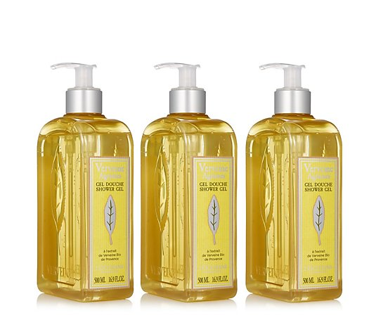 L'Occitane Supersize Verbena Citrus Shower Gel Trio 500ml