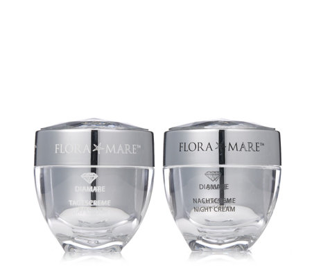 Flora Mare Diamare 2 Piece Day & Night Cream Collection
