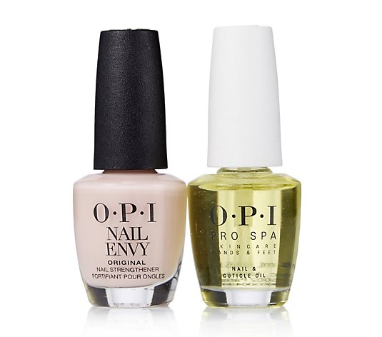 OPI Bubble Bath Nail Envy With ProSpa Oil