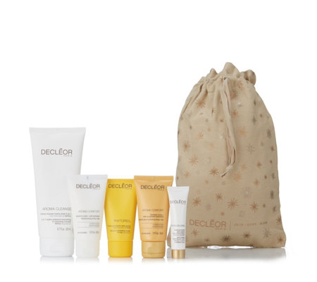 Decleor 5 Piece Body & Face Spa Hamper with Tote Bag