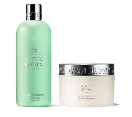 Molton Brown Shampoo & Deep Conditioning Hair Mask Duo