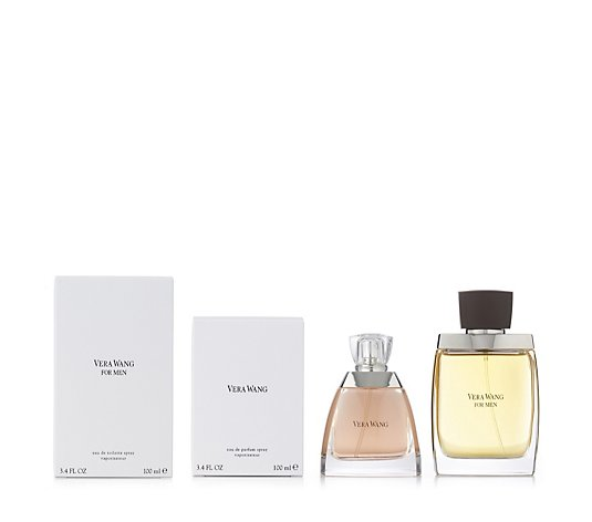 Vera Wang Signature 2 Piece Female & Male Eau de Toilette Collection