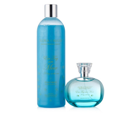 Flora Mare A Day At The Sea EDP 100ml & Shower Gel 500ml
