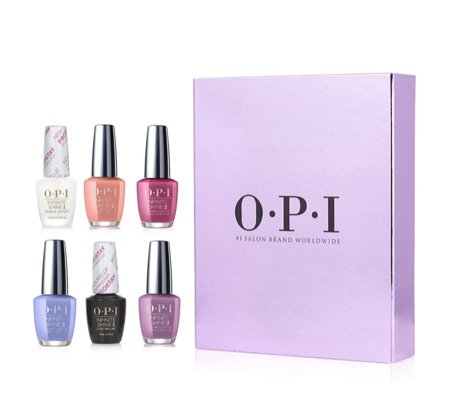 OPI 6 Piece Winter Classics Infinite Shine Collection