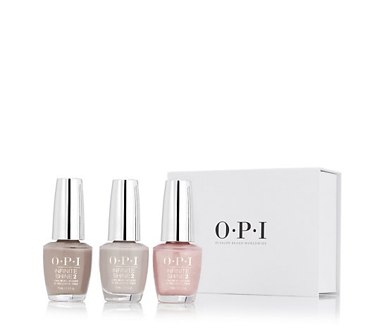 OPI 3 Piece Infinite Shine Classics Collection