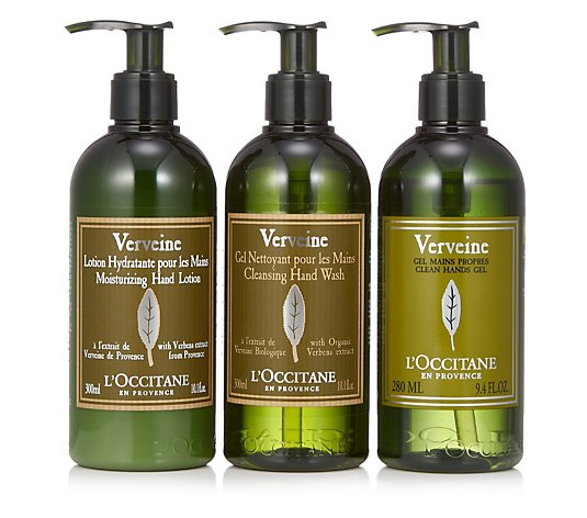 L'Occitane Verbena Clean Hands Complete Collection