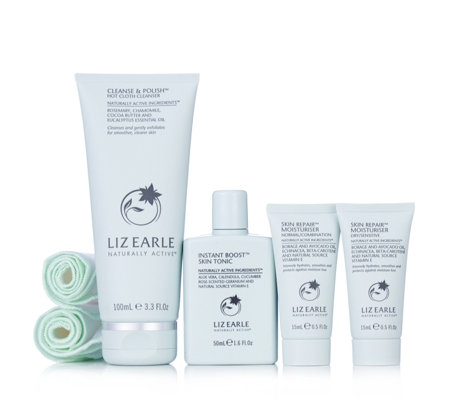 Liz Earle 4 Piece Essentials Discovery Collection