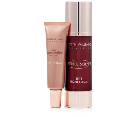 Judith Williams Retinol Science Night Serum 80ml & Eye Cream 30ml