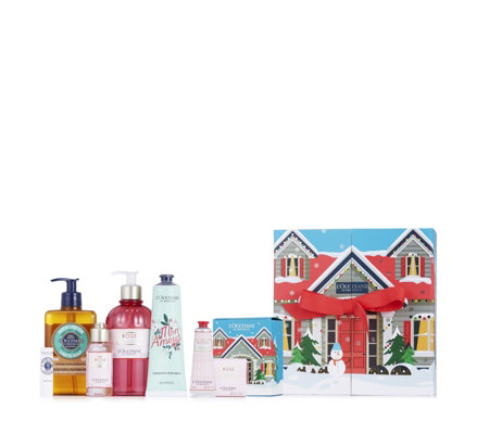 L'Occitane 7 Piece Bath and Body Luxury Gifting Collection