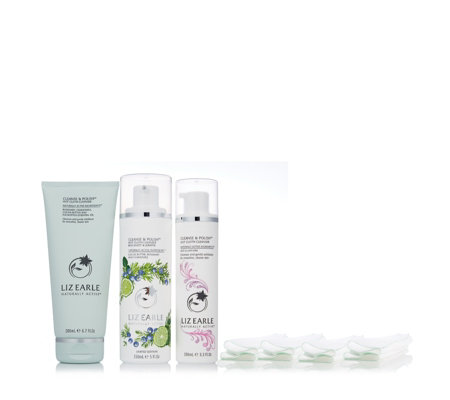 Liz Earle 3 Piece Must-Have Cleansing Trio
