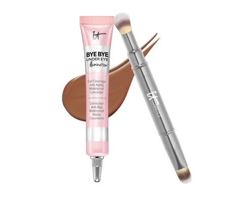 IT Cosmetics Bye Bye Under Eye Illumination with Concealer Brush