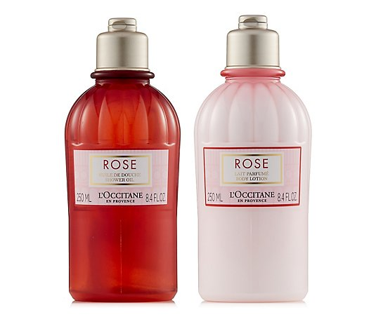 L'Occitane Shower Oil and Body Lotion Duo