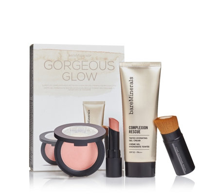 Bareminerals 4 Piece Gorgeous Glow Make-up Collection
