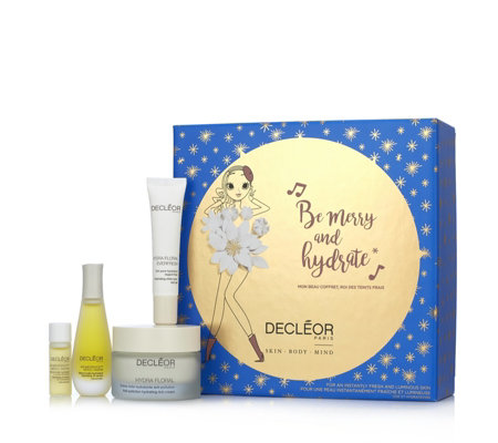 Decleor 4 Piece Be Merry & Hydrate Skincare Collection