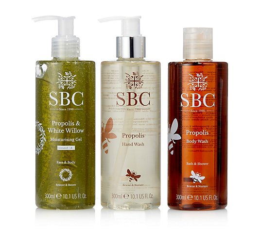 SBC 3 Piece Hand & Body Propolis Collection