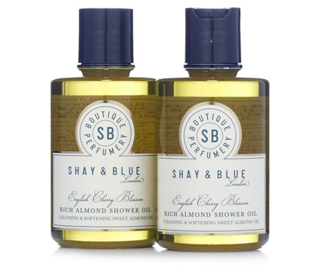 Shay & Blue Rich Almond Shower Oil Duo 250ml
