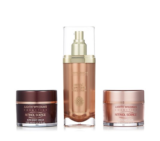 Judith Williams 3 Piece Supersize Targeted Retinol Collection