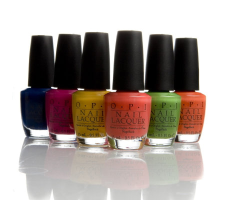 OPI 6 Piece Mod about Brights Collection