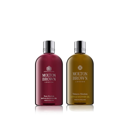 Molton Brown 2 Piece Rosa Absolute & Tobacco Absolute Bathing Collection