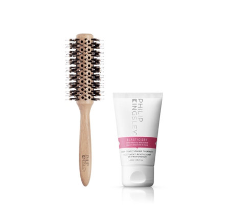 Philip Kingsley Radial Hair Brush & 40ml Elasticizer