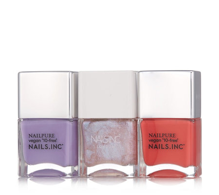 Nails Inc 3 Piece Cool To Be Kind Collection