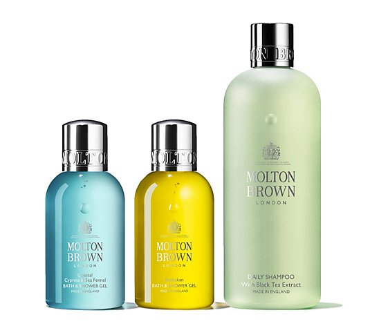 Molton Brown Energising Body & Hair Trio
