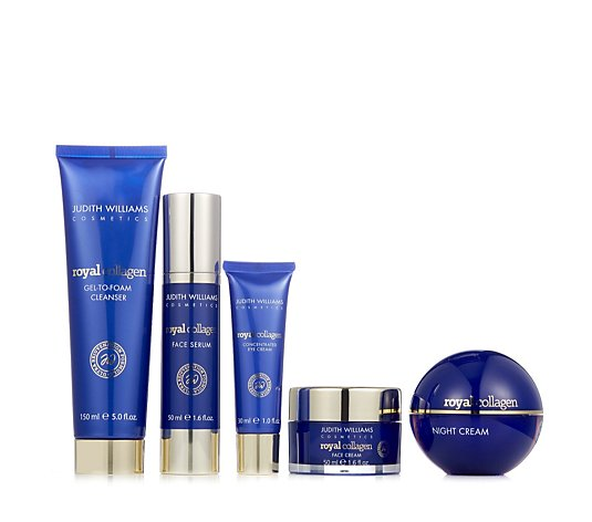 Judith Williams Royal Collagen 5 Piece Skincare Collection