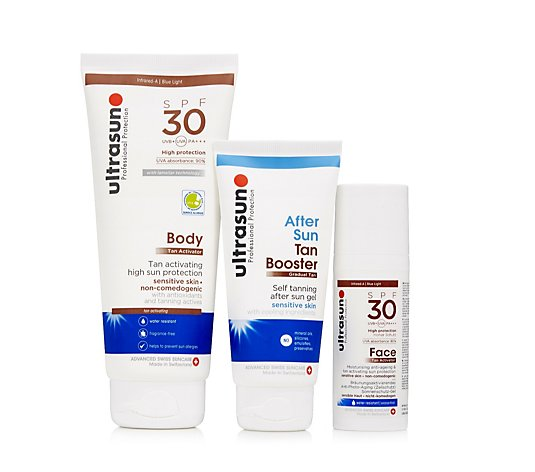 Ultrasun Sun Protection 3 Piece Tan Activator Collection
