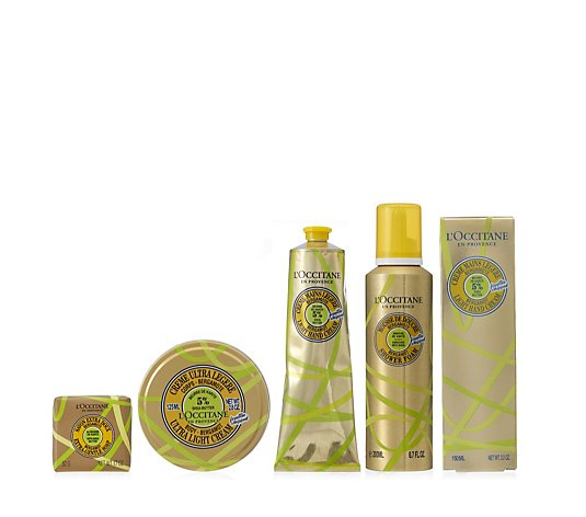 L'Occitane 4 Piece Shea Bergamot Bumper Collection