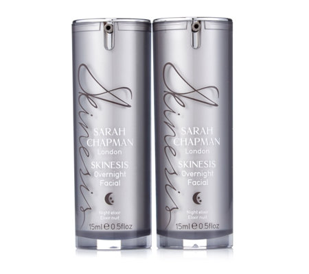 Sarah Chapman Overnight Facial 15ml Duo