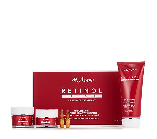M. Asam 4 Piece 24 Hour Retinol Treatment Collection
