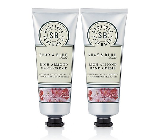Shay & Blue Rich Almond Hand Creme Duo 75ml