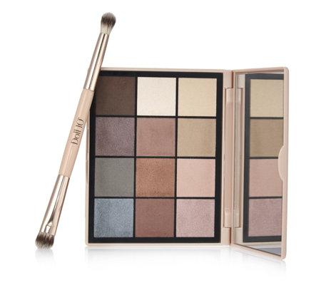 Doll 10 Pro Eyeshadow Palette 3.0 With Brush