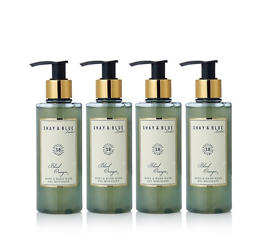 Shay & Blue 4 Piece Body & Hand Wash Collection