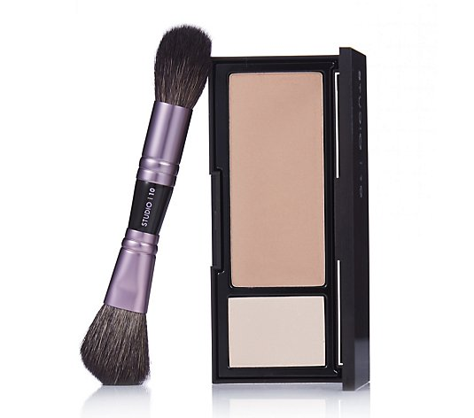 Studio 10 Radiance Glow Bronzing Veil Travel Brush