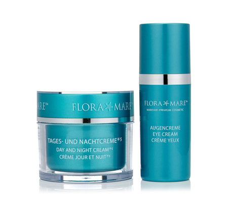 Flora Mare Day & Night Cream 100ml And Eye Cream 30ml
