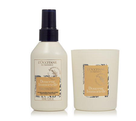 L'Occitane Home Fragrance & Candle Duo