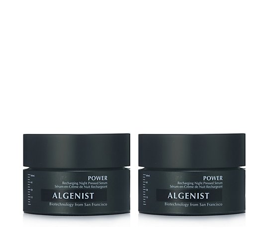 Algenist Power Recharging Night Pressed Serum Duo