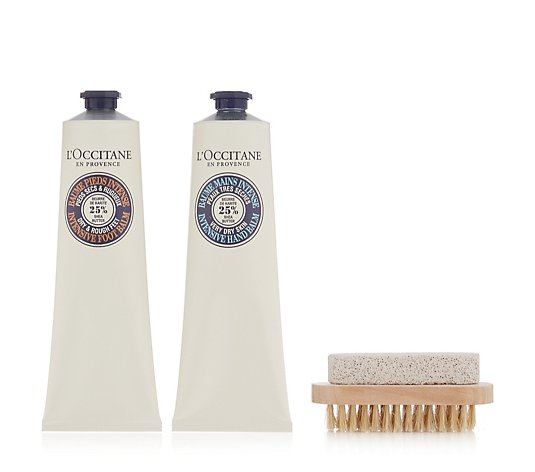L'Occitane 2 Piece Hand & Foot Balm Collection