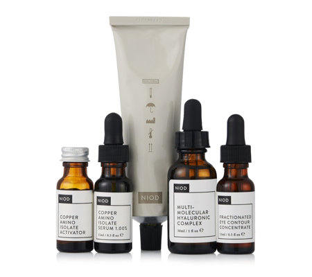 NIOD 4 Piece Dermal Science Skincare Collection
