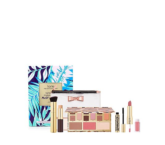 Tarte 5 Piece Make Up Bag Must Haves